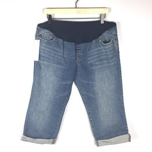 Liz Lange Maternity for Target Jean Capris Size 14